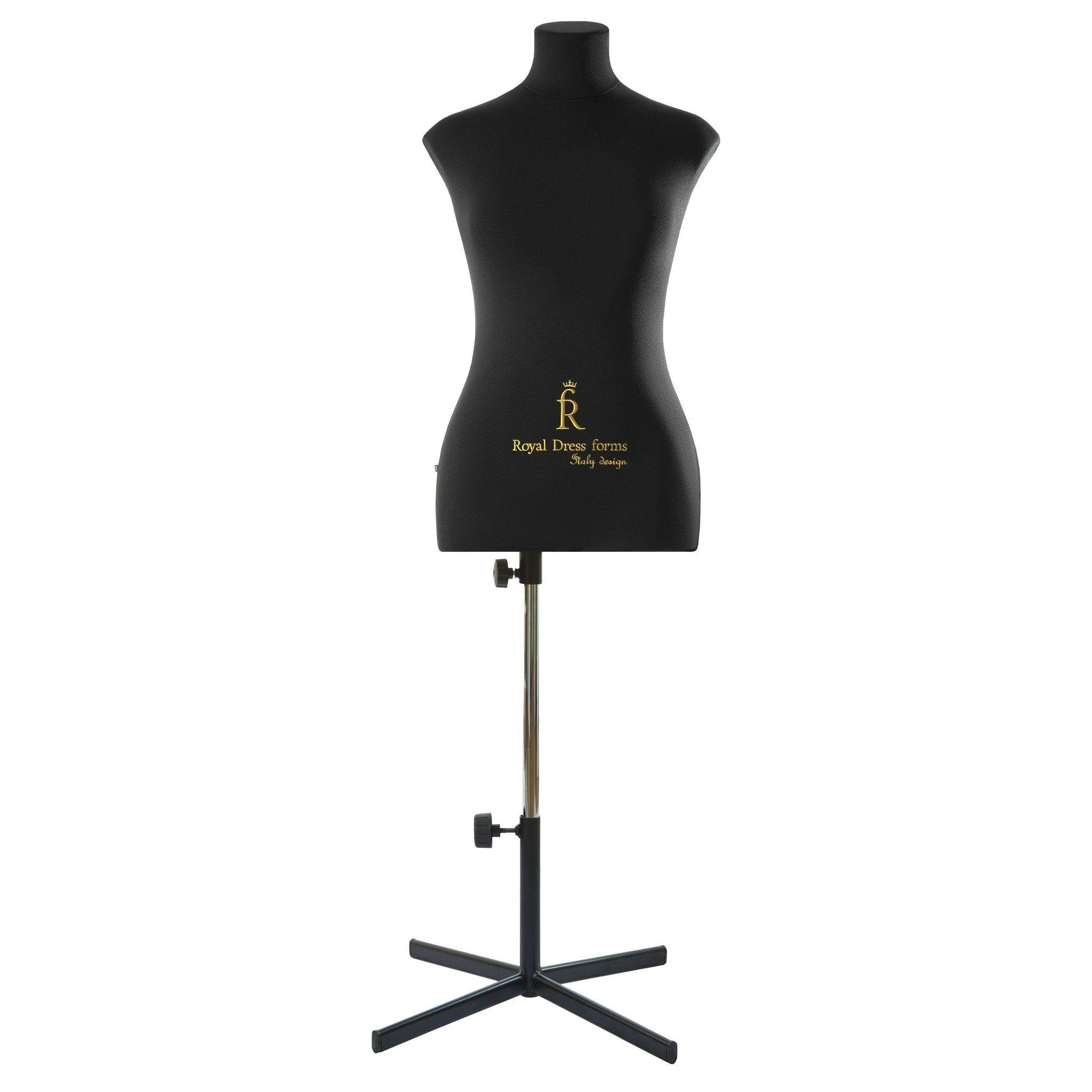 Манекен портновский Кристина, комплект Премиум, размер  44 ЧерныйФото 3