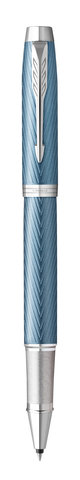 Parker IM Premium - Blue Grey CT, ручка-роллер, F