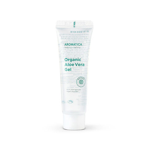 Органический успокаивающий Гель AROMATICA Organic Aloe Vera Gel 50ml