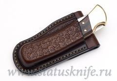 Чехол кожаный коричневый Buck 110