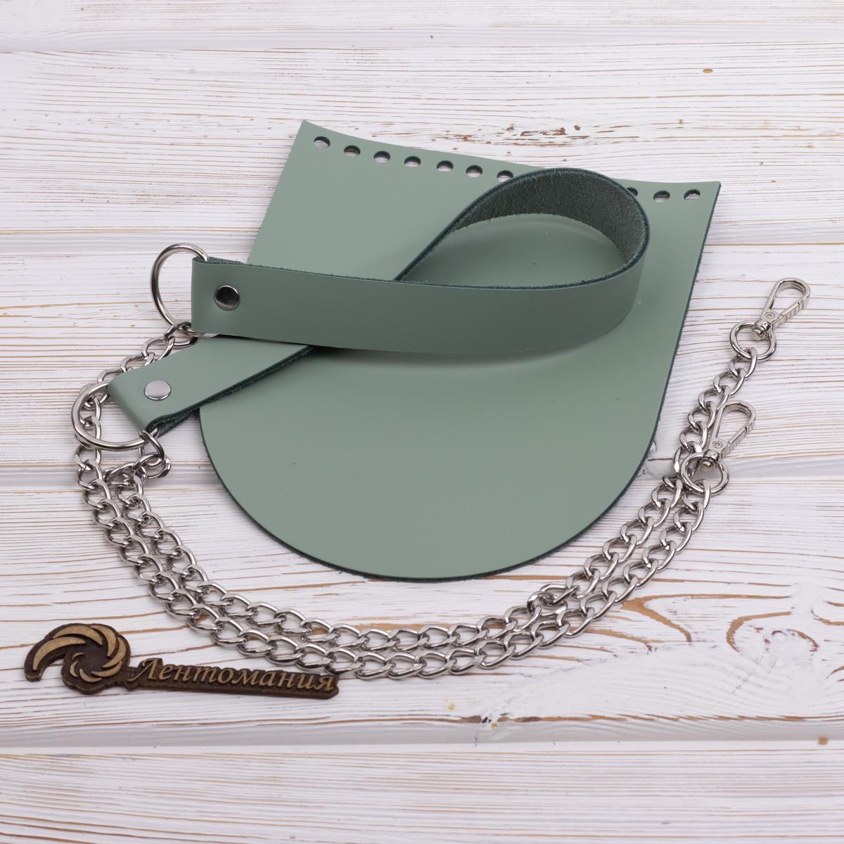 """Комплект для сумочки """"Орео"""" с бесплатным видео уроком Комплект для сумочки """"Фисташка"""" N4 без метал. фурнитуры IMG_6916.jpg"""