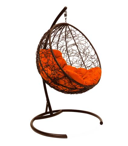 Кресло подвесное Milagro brown/orange