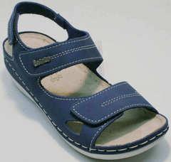 Спортивные летние сандалии женские кожа Inblu CB-1U Blue.