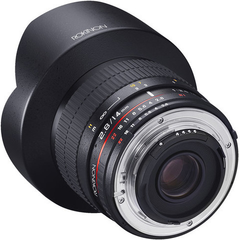 Объектив Samyang 14mm f/2.8 IF ED UMC AS AE Black для Nikon