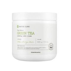 Гель крем TOSOWOONG Green Tea Calming Jumbo Cream 500g