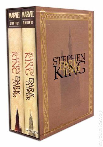 Stephen King's DARK TOWER Omnibus Slipcase ( 2 Volume Hardcover )