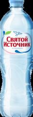 """Вода """"Святой источник""""  питьевая негазированная 0,75 л"""