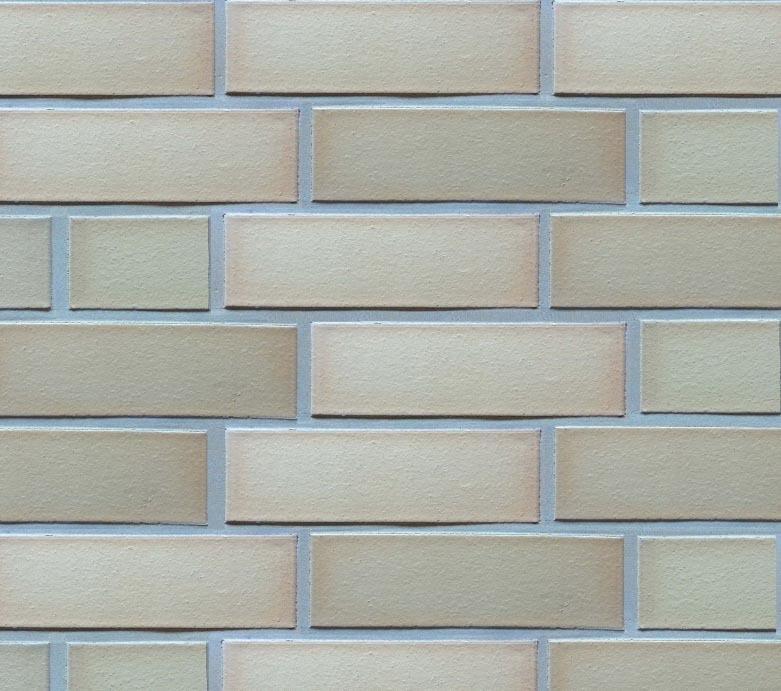 Feldhaus Klinker, K254NF90, sabioso viva liso, кремовый, гладкий, пустотелый - Клинкерный кирпич