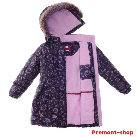 Пальто Premont зимнее Черничный грант WP91353 PURPLE
