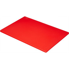 Доска разделочная Gastrorag 450х300x12 мм полиэтиленовая красная (артикул производителя CB45301RD)
