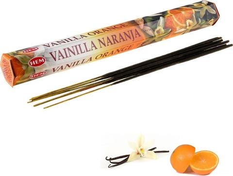 Индийские палочки Hem Vanilla Orange