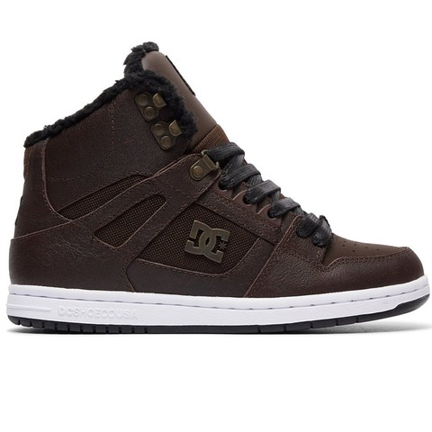 Кеды жен DC REBOUND HI WNT J SHOE BCT BROWN/CHOCOLATE
