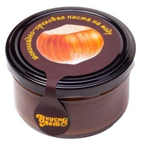 Паста Фундук Молочная Шоколадно-ореховая, 90г (Вкуснолето)