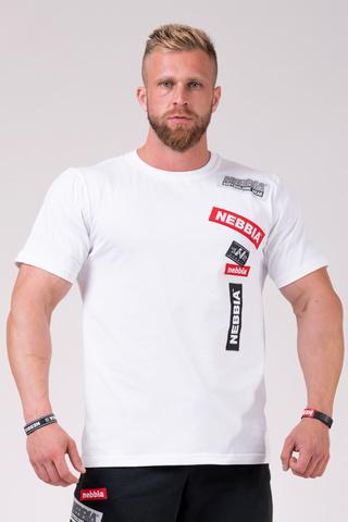 Мужская футболка Nebbia Labels T-shirt 171 white