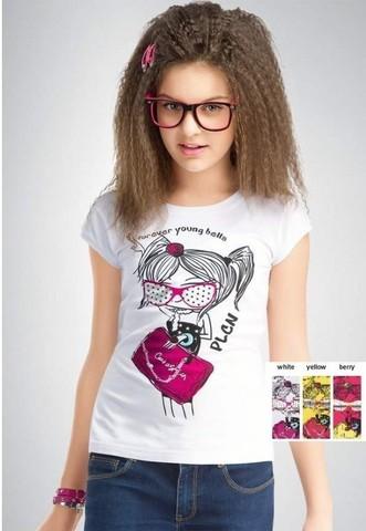 GTR446 футболка для девочек