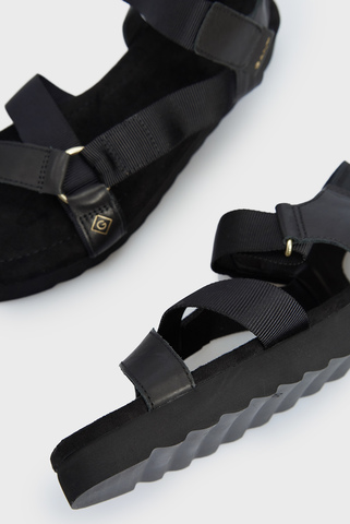 Женские черные сандалии JANEEN Gant