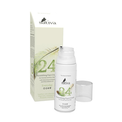 SATIVA Крем для лица Питательный №24 для нормального и сухого типа кожи