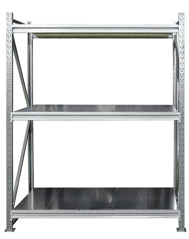 Усиленный металлический стеллаж (глубина 500, высота 2500 мм)