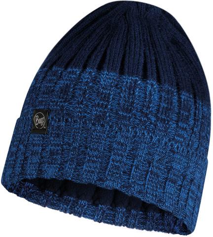 Шапка вязаная с флисом Buff Hat Knitted Polar Igor Night Blue фото 1