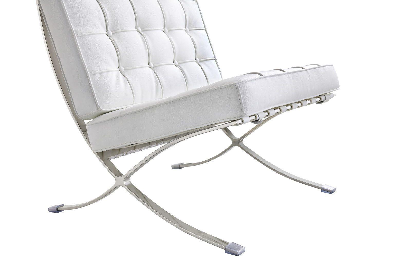 Кресло Barcelona белое