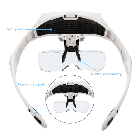 Лупа - очки для наращивания ресниц