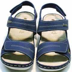 Стильные спортивные босоножки запорожье женские Inblu CB-1U Blue.
