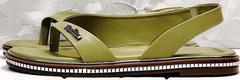 Красивые женские сандалии босоножки на тонкой подошве Evromoda 454-411 Olive.