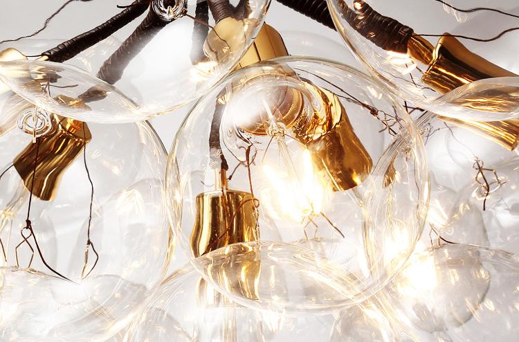 Подвесной светильник копия Bubble X-Large by Pelle (коричневый)