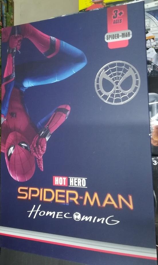 Человек-паук в оригинальной  упаковке