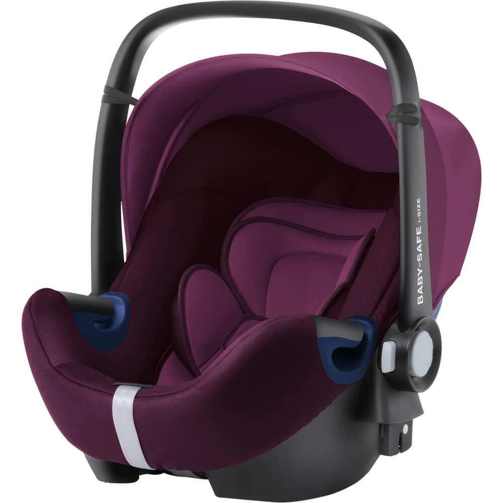 Britax Roemer Baby-Safe² i-Size Автокресло Britax Roemer Baby-Safe2 i-Size Burgundy Red britax-roemer-baby-safe-i-size-burgundy-red-1.jpg