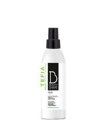 Крем-масло аргановое для всех типов волос 200 мл BEAUTY SHAPE STYLE Tefia