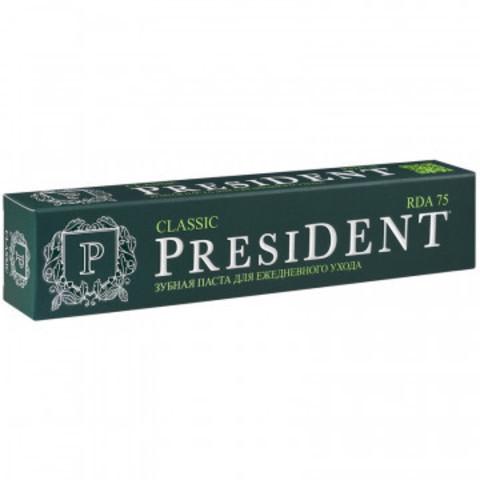 Зубная паста PRESIDENT Classic (75 RDA) 75 мл