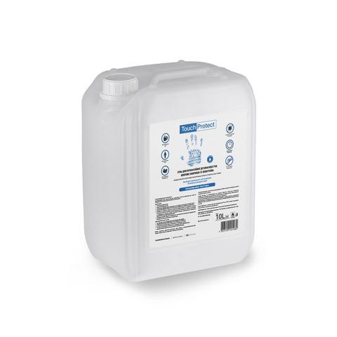 Антисептик гель для дезінфекції рук, тіла і поверхонь Touch Protect 10 l (1)