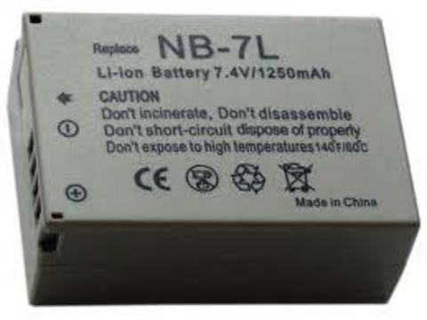 Аккумулятор  Canon NB-7L для фотоаппарата