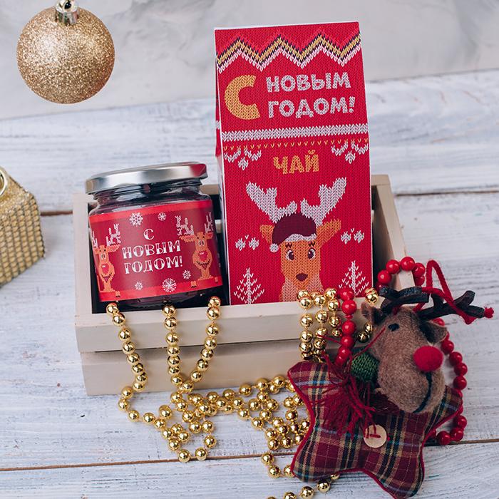 Купить подарочный набор чай крем-мед в Перми