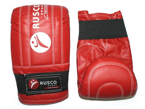 Перчатки снарядные RuscoSport, красные, размер L
