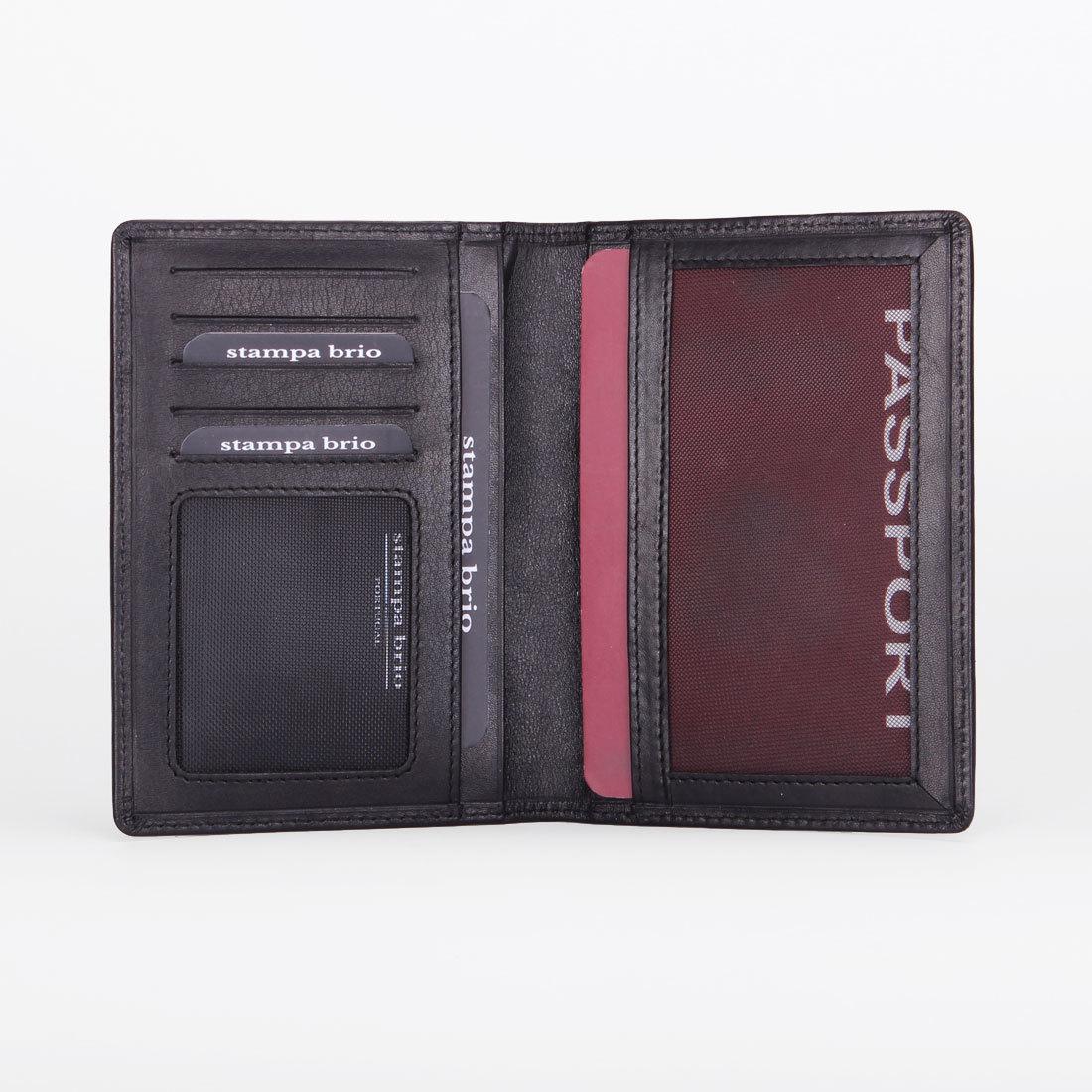 102 R - Обложка для паспорта с RFID защитой
