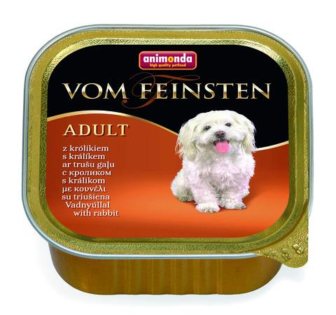 Консервы Animonda Vom Feinsten Adult с кроликом для взрослых собак