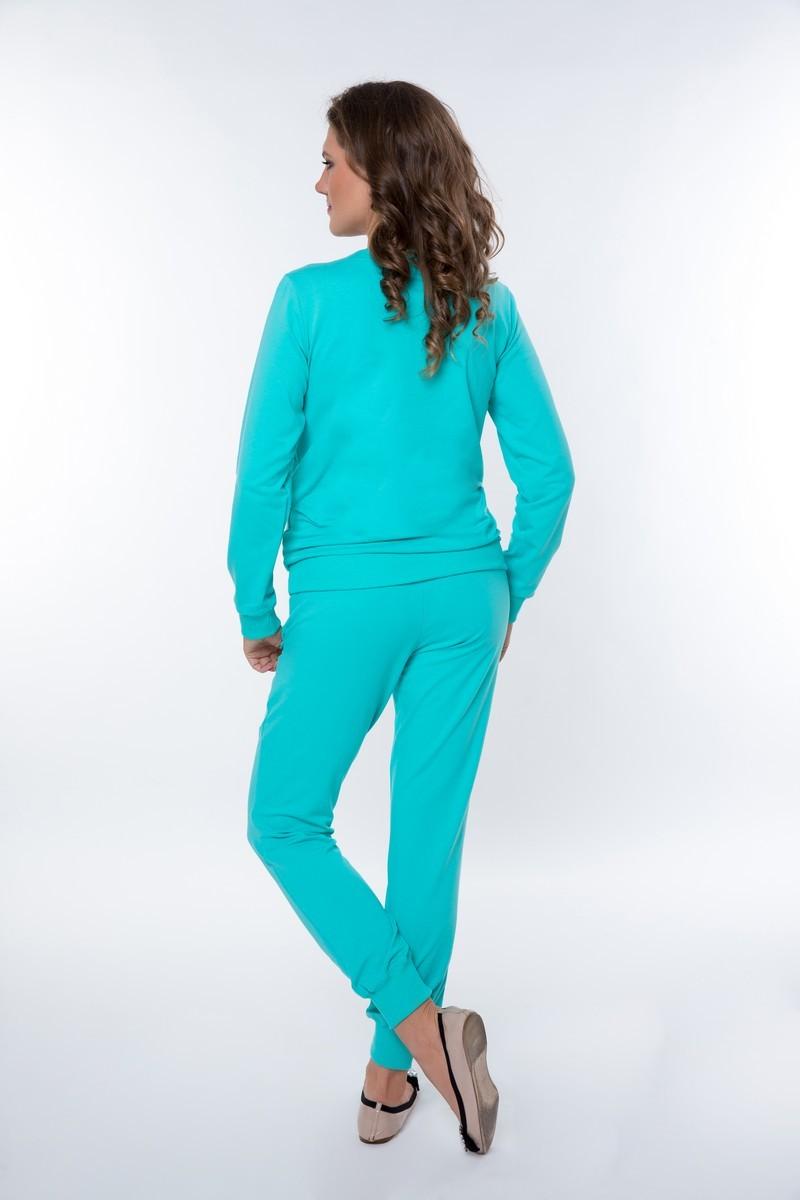 Спортивный костюм для беременных и кормящих 08369 ментоловый