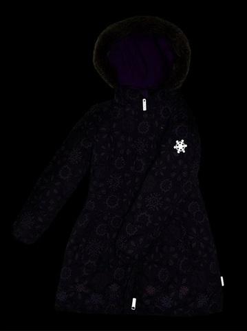 Детское пальто Premont Черничный грант WP91353 PURPLE