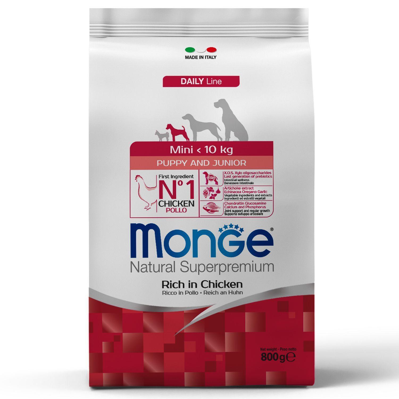 Сухой корм Корм для щенков мелких пород Monge Dog Mini 70004107_1.jpeg