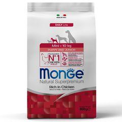 Корм для щенков мелких пород Monge Dog Mini