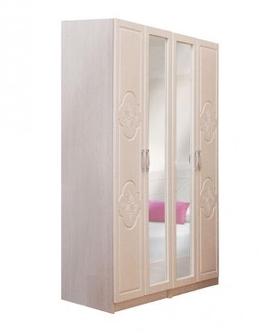 Шкаф 4-х дверный Лилия-
