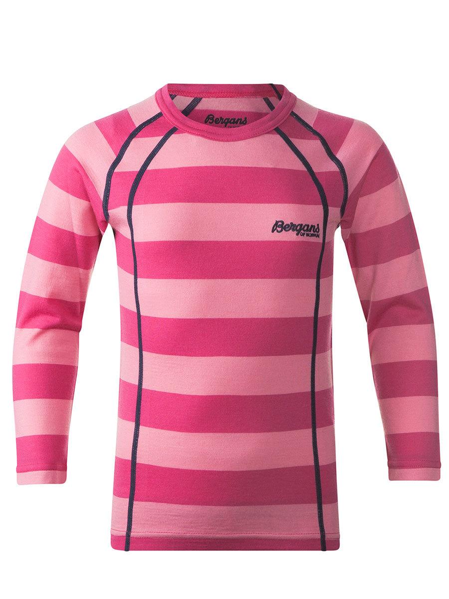 Bergans термобелье футболка 1975 Fjellrapp Kids Shirt Striped