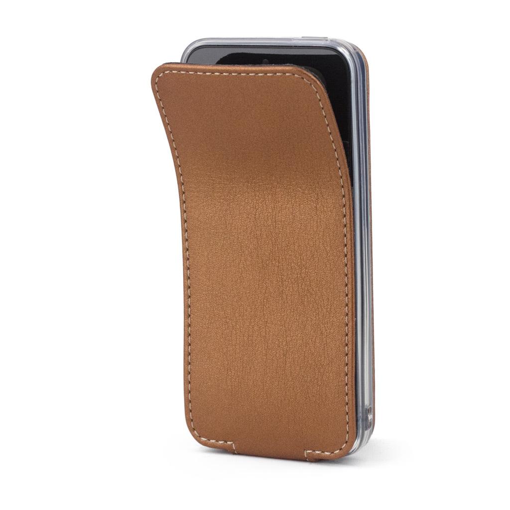 Чехол для iPhone 5S/SE из натуральной кожи теленка, медного цвета