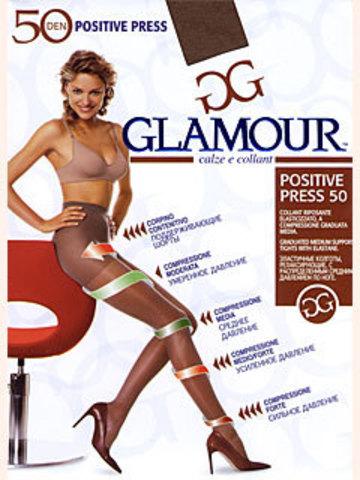 Колготки Glamour Positive Press 50
