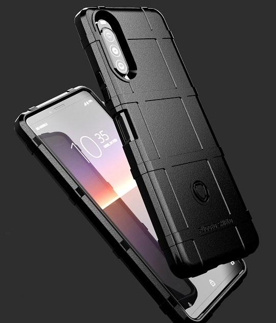 Чехол с высокой защитой на Sony Xperia 10 II с 2020 года, серии Armor от Caseport