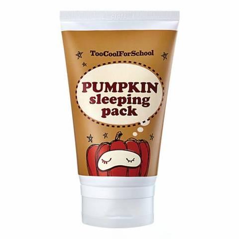 Too Cool For School Pumpkin Sleeping Pack ночная маска с экстрактом тыквы