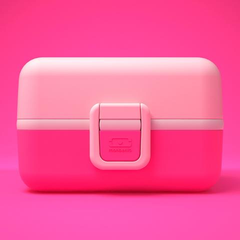 Ланчбокс Monbento Tresor (0,8 литра), розовый