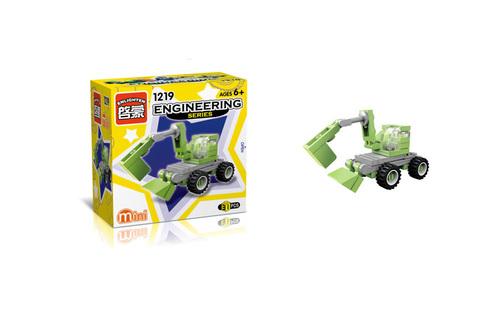 Конструктор трактор с ковшом 31 дет. B050-H26333